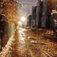 Ночь,улица,фонарь... :: Сергей Гашников