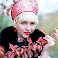 пунцовый цвет :: Кристина Галганова
