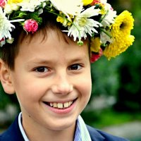 улыбка радостного ребенка :: roman