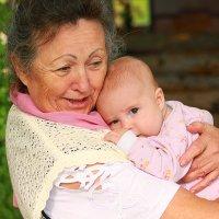 Счастье быть бабушкой :: Ольга Самарина