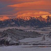 Закат над Катунью. :: anton_franchuk Франчук