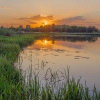 весенний закат :: Игорь Турукин