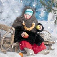 Марфушенька -душенька :: Наталья Могильникова