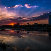 Закат над Челябинском :: Марк