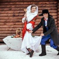 Зимняя русская свадьба :: Мария
