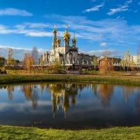 Зеркало в парке :: юрий Амосов