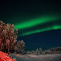 northern lights :: Aleksandr Tishkov