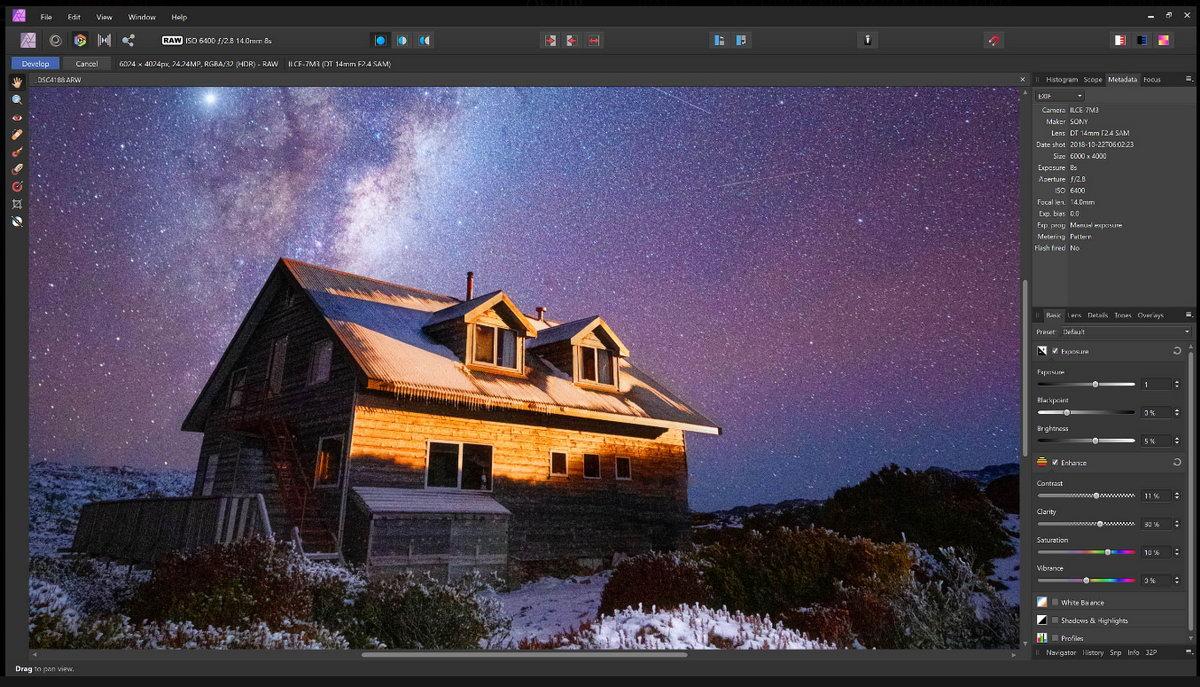 Affinity вполне способен заменить профессиональный софт для фотографов