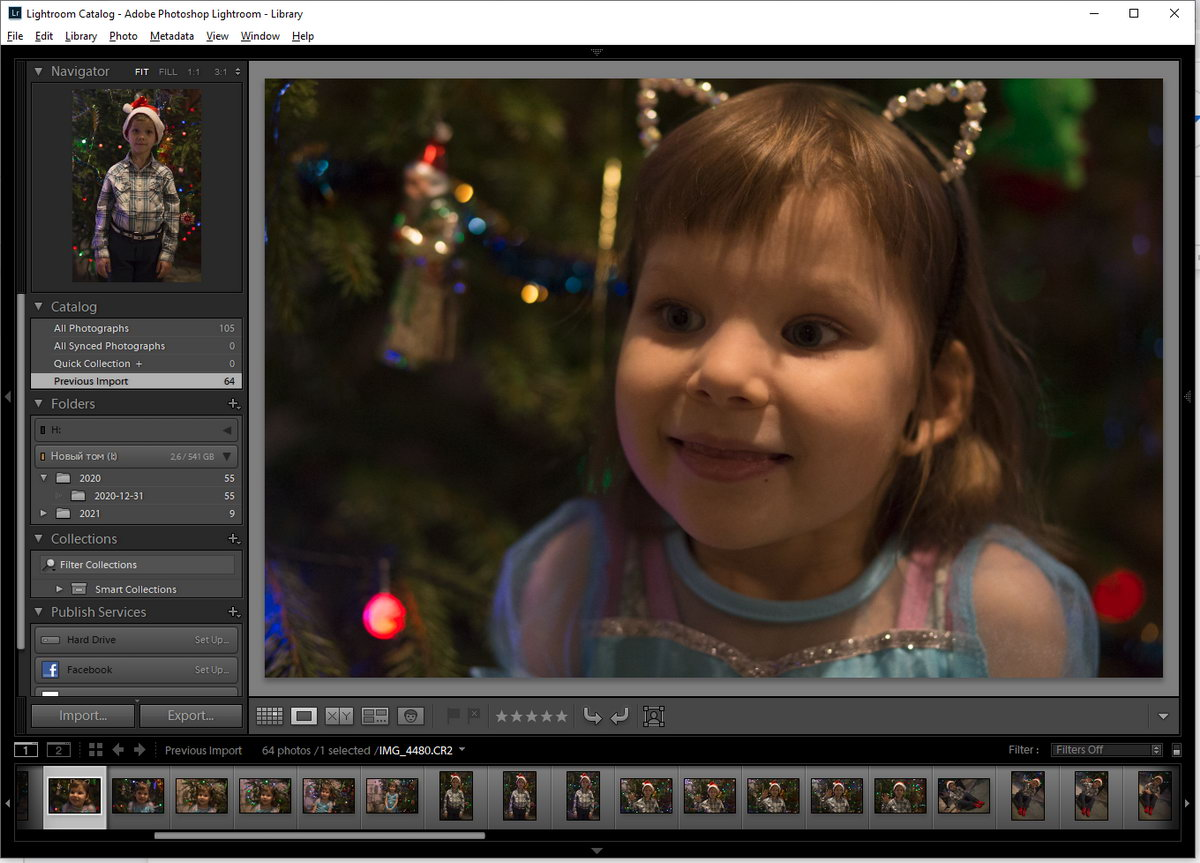 Преимущество программы в возможности редактировать кадры подборками