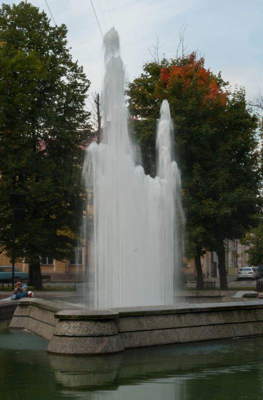фонтан в Кронштадте - Алексей Кудрявцев