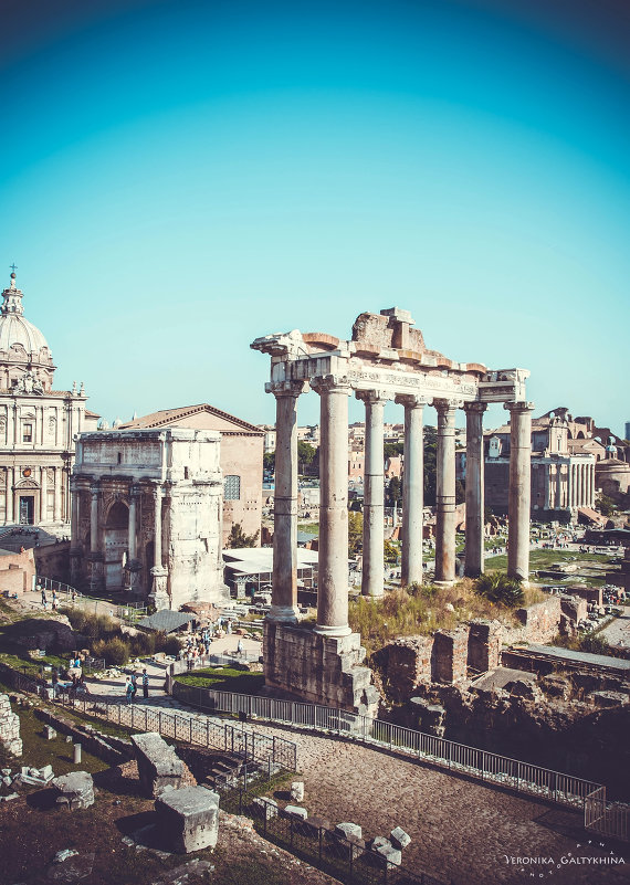 Римский форум - Вероника Галтыхина
