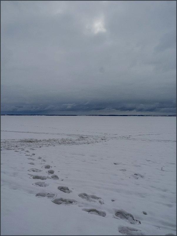 Зимний пейзаж - Наталья Rosenwasser