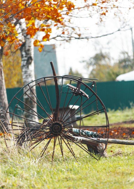 ...колесо... с историей... - Сергей Долженко