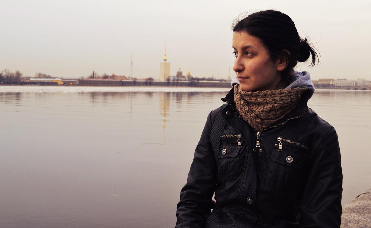 Автопортрет в любимом городе - Евгения Латунская
