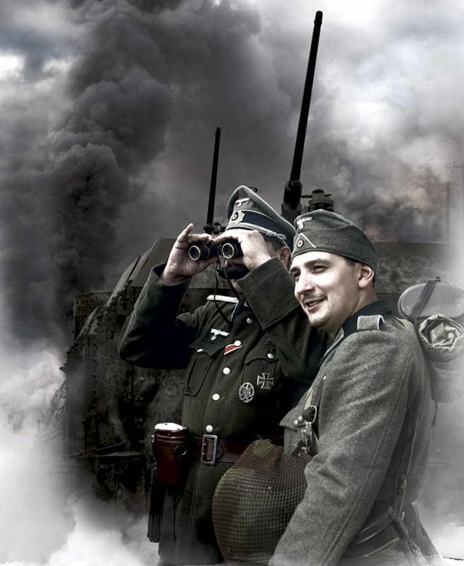 Немцы (блицкриг...) - Борис Соломатин