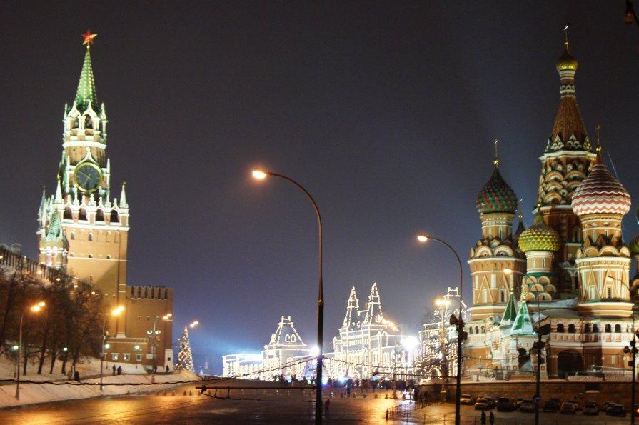 Красная площадь - Анастасия Сергиенко