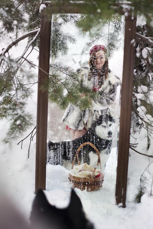 Красная шапочка и очень добрый волк - Марина Тверитнева