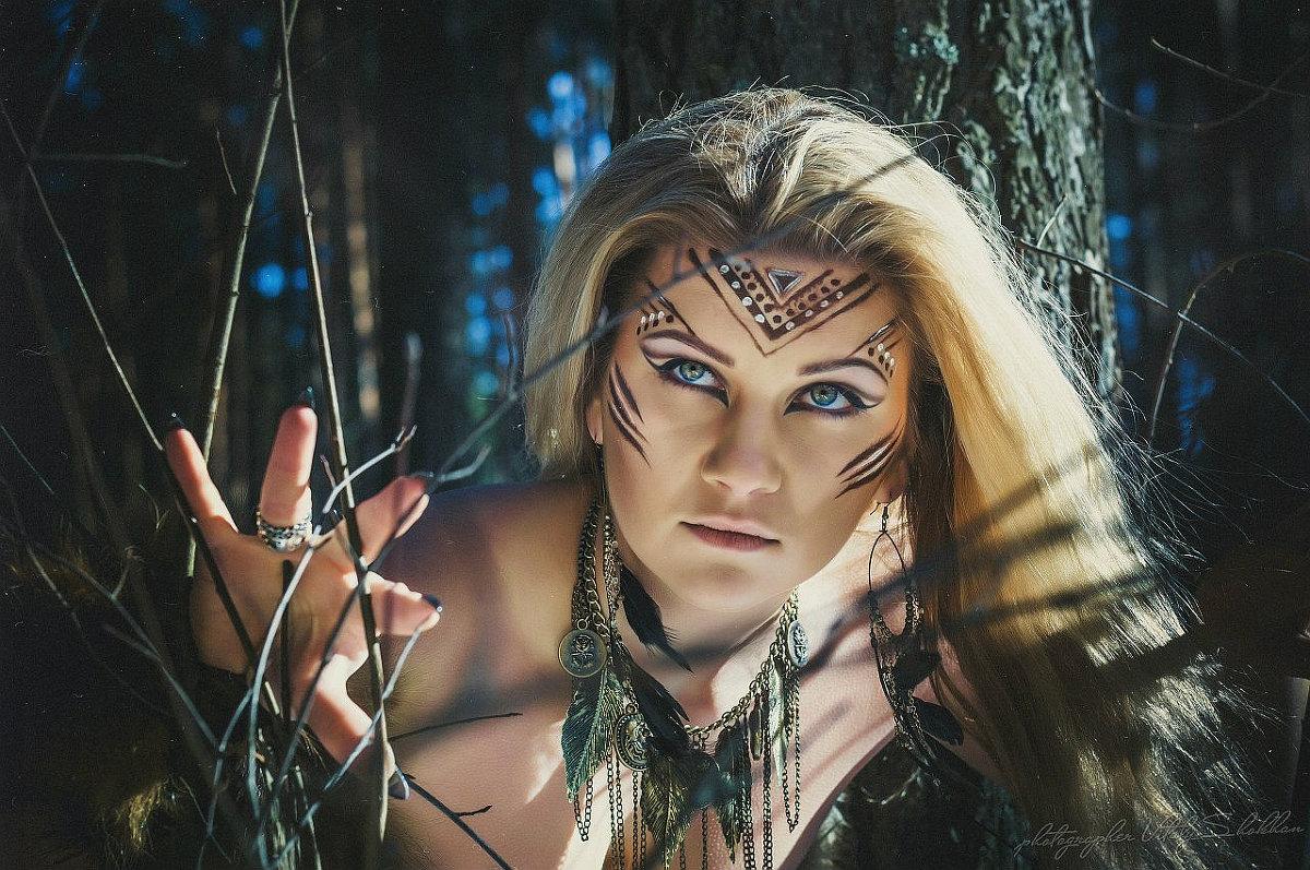 Прически для амазонки фото