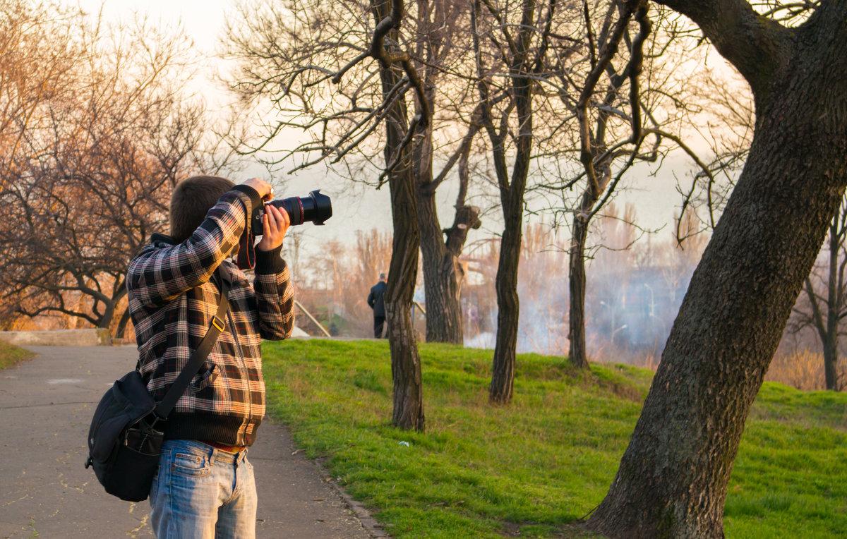 сейчас ворону подстрелю и пойдём.. - = PhotoSniper