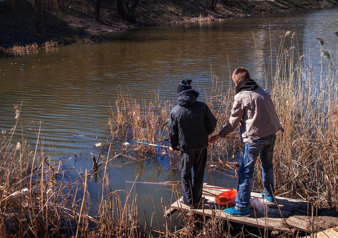 выезд на рыбалку весной