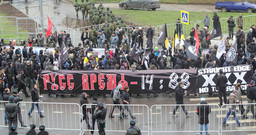 Русский марш-2012, Москва, 04.11.12 г. - Галина Савинич