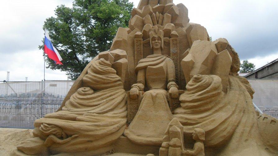 Песчаные фигуры - Владимир Лагажан