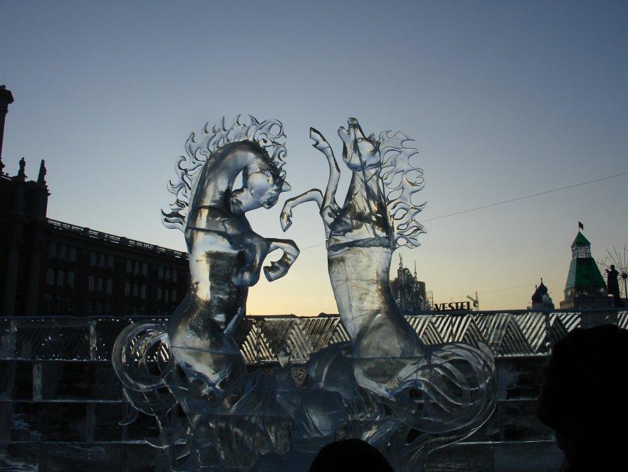Два белых коня - Виктор Шилков