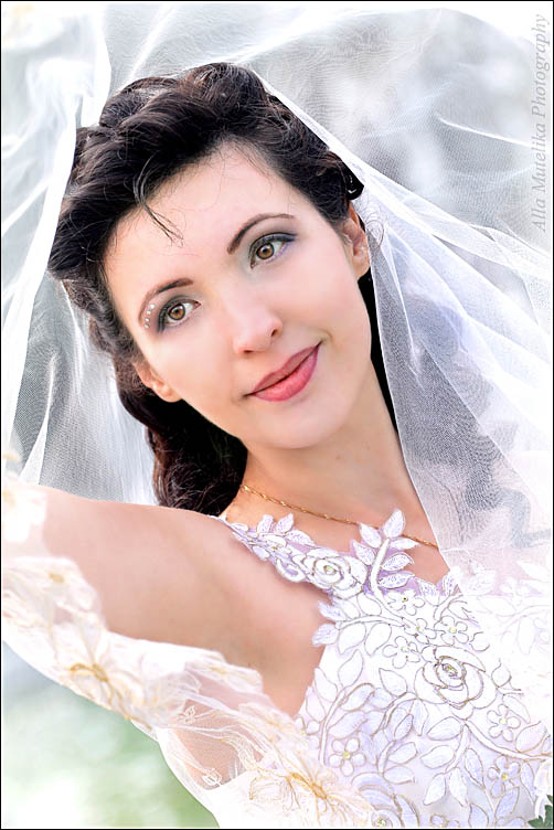 портрет невесты - Алла Мутелика
