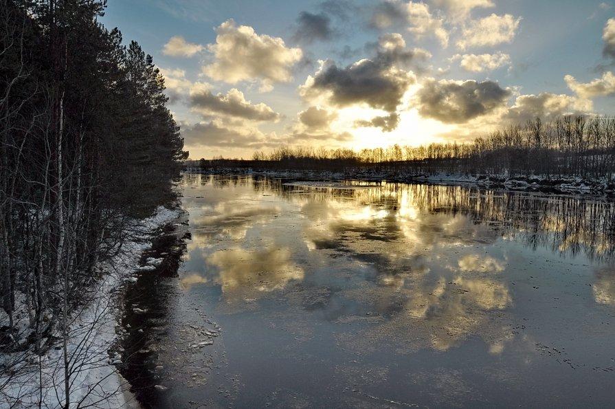 """"""" Зима наступает"""" - Владимир Кочнев"""