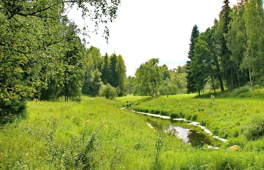 Река Славянка - Олег Попков