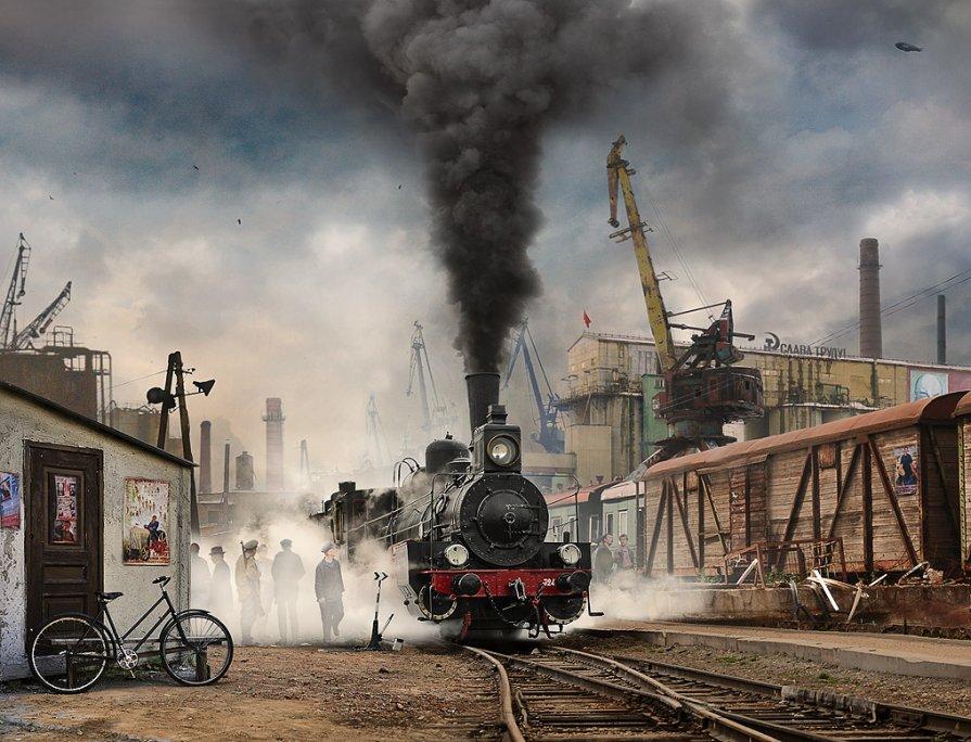 Будни (промышленность...) - Борис Соломатин