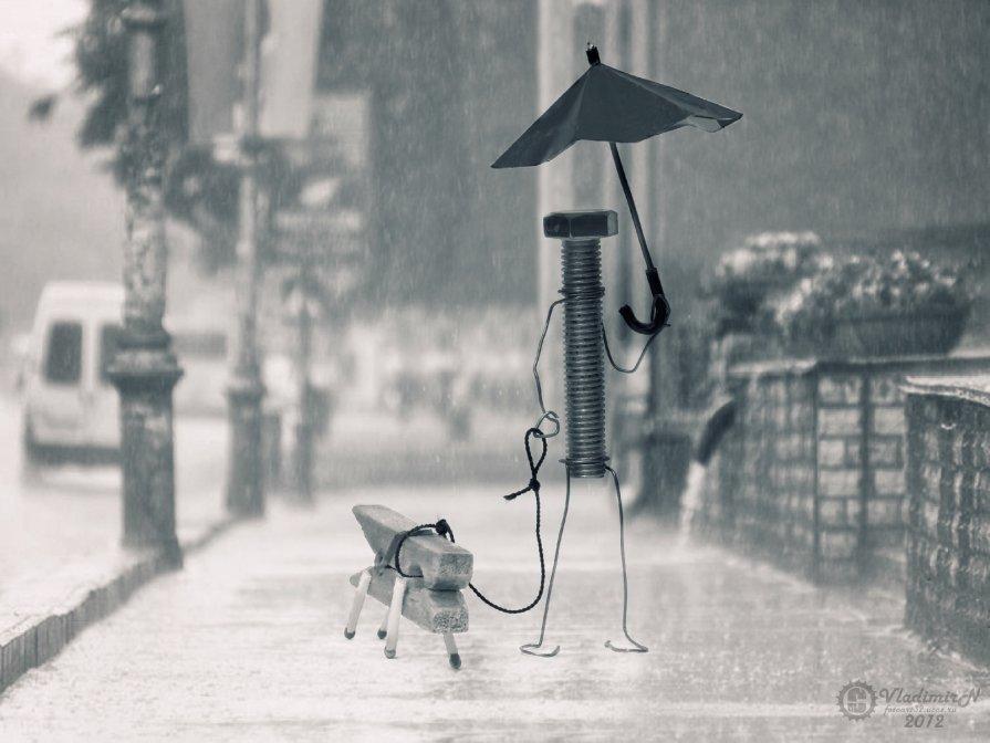 Под дождем - Владимир Ноздрачев