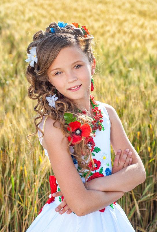 Маленькая украиночка - Кристина Волкова(Загальцева)