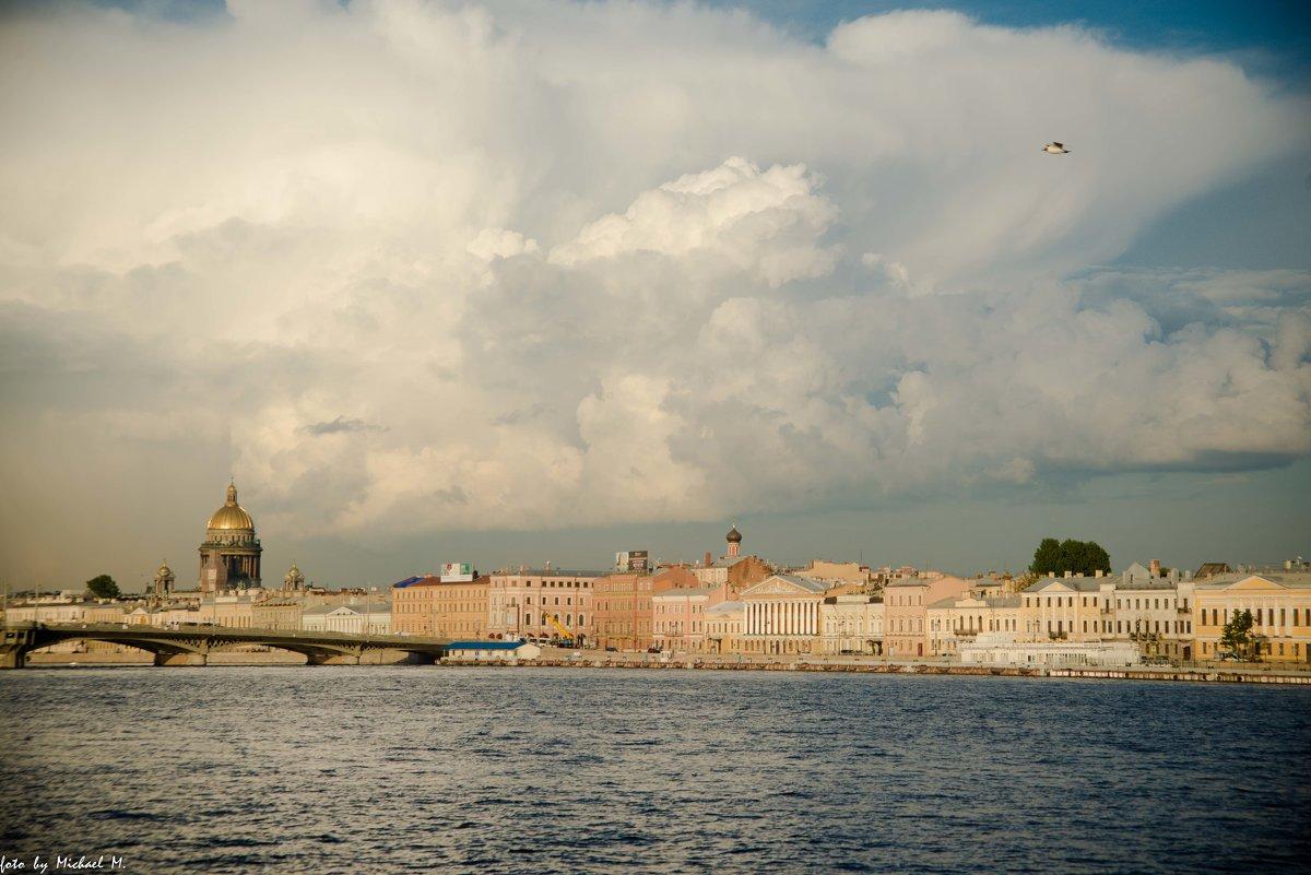 Благовещенский мост и Английская набережная, СПб - Михаил
