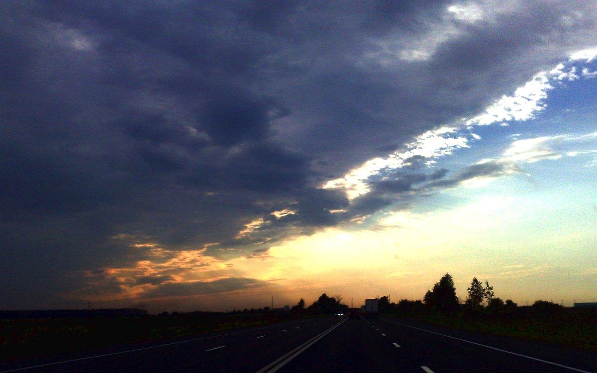 Внезапный закат. - Сергей Тупало
