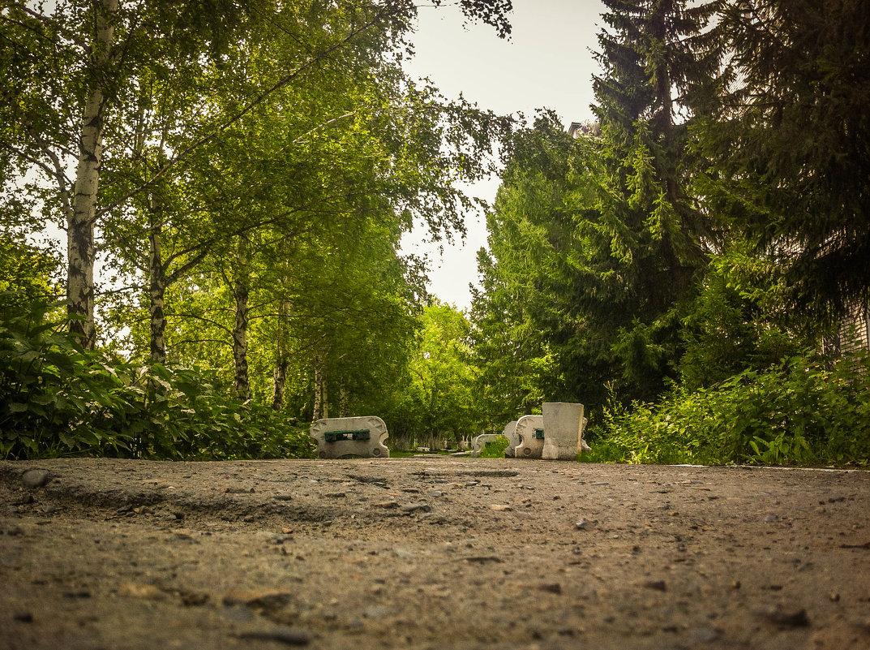 В парке - Константин Родочинский