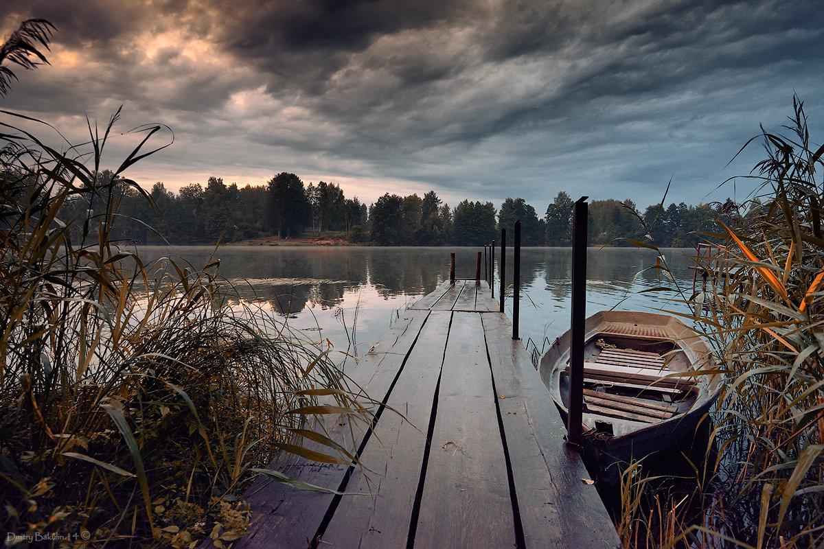 где озеро, там и лодки - Дмитрий Бакулин