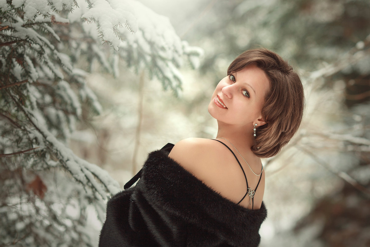 Lady Winter. - Romanchuk Foto