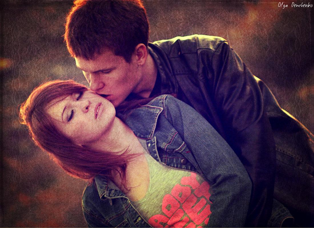 Влюбленные Анастасия и Валерий - Ольга Демченко