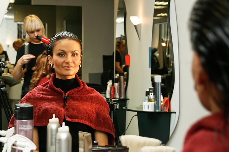 Мастер класс парикмахеров