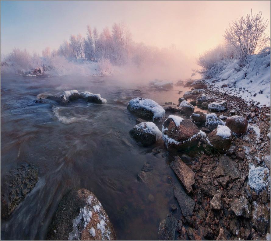 / Фрагмент морозного утра  / - Влад Соколовский