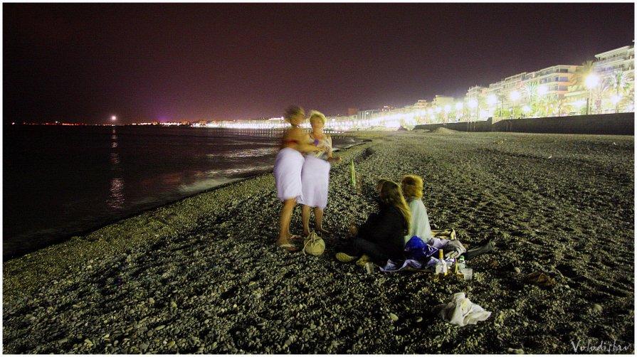 Русские на пляже. - Владислав Куликов