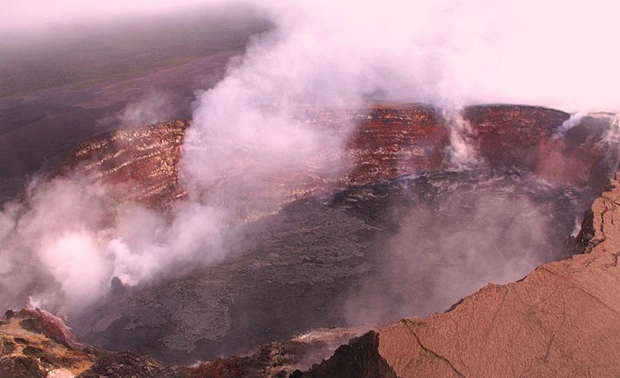 над кратером - Petr @+