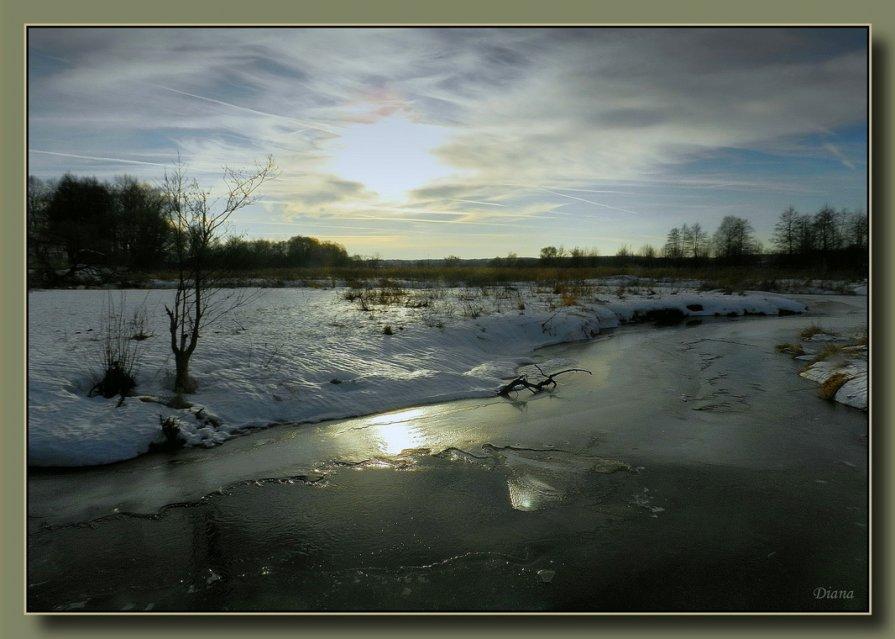 У зимней реки (2) - Диана Буглак