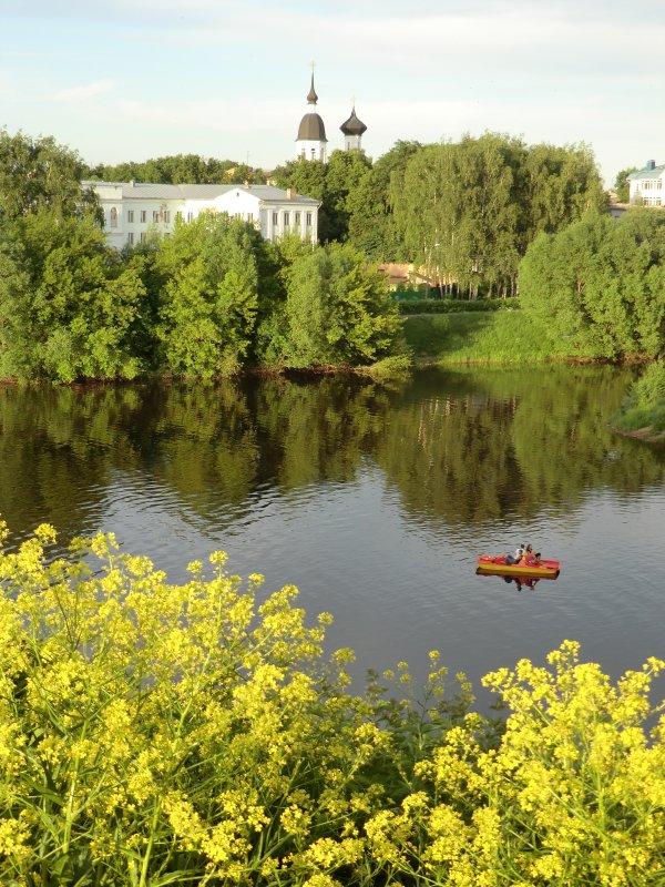 Вид с валов Великолукской крепости.... - Владимир Павлов