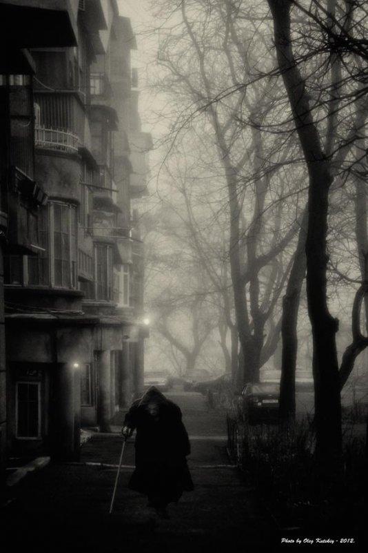 Туманный день... - Олег Куцкий
