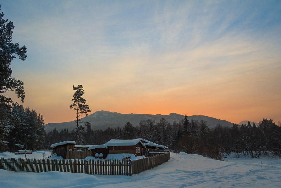 Закат над г. Малиновая - Павел Меньшиков