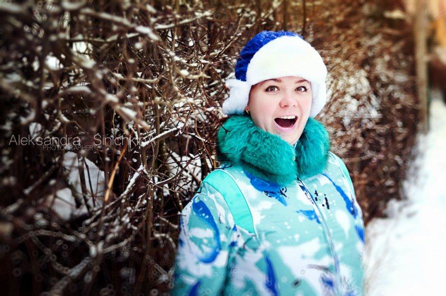 позитив на Новый год! - Александра Синичкина
