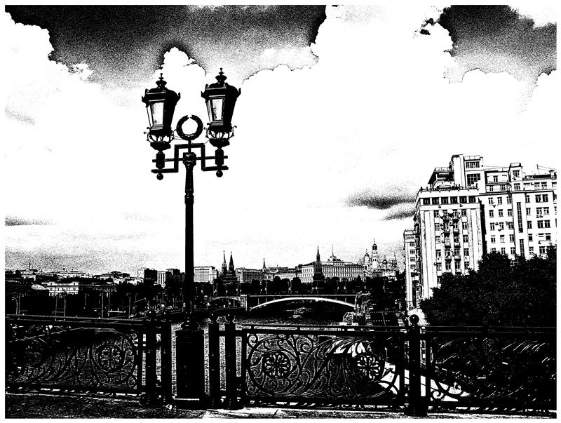 На Патриаршем мосту - Валерий Оболенский