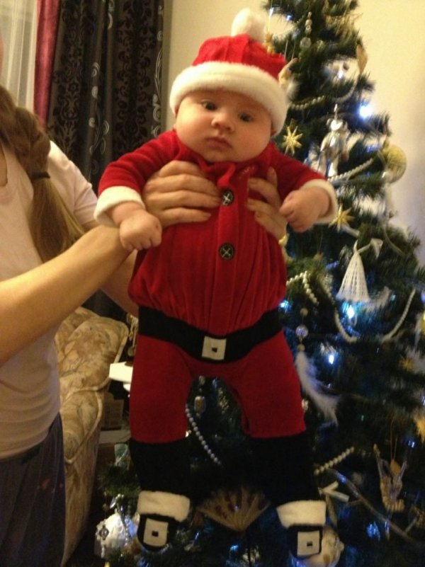 К нам Санта Клаус пришел...... - Игорь Полищук